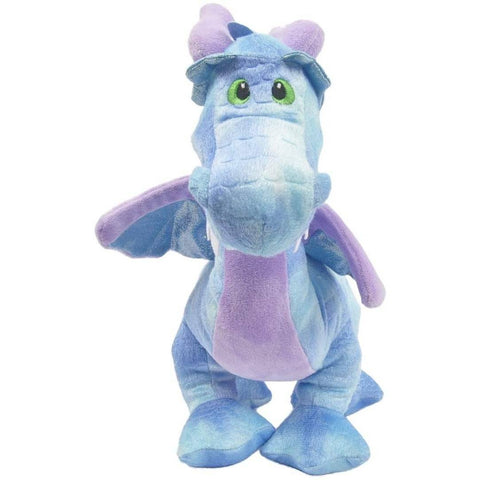 Image of Little Bumper Kids Toys Blue Dragon Plush Coin Bank Toy