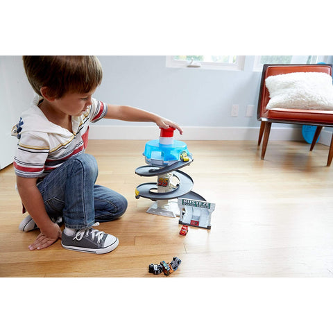 "Little Bumper Kids Toys ""Cars"" Mini Racers Spinning Race Track"