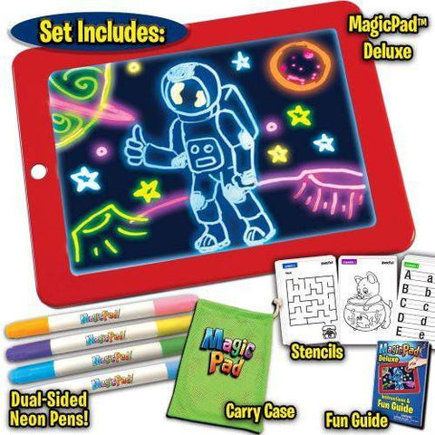 Little Bumper Kids Toys Deluxe LED Drawing Magic Pad