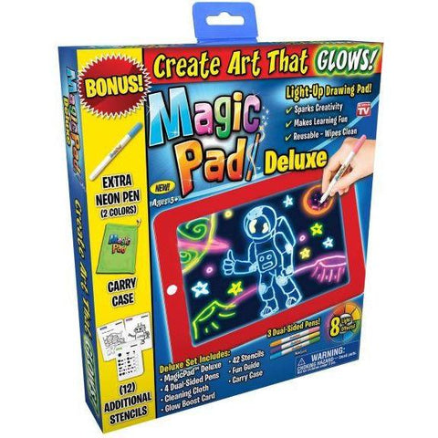 Image of Little Bumper Kids Toys Deluxe LED Drawing Magic Pad