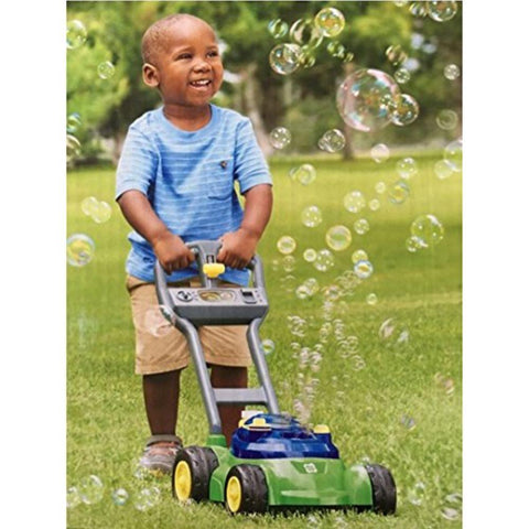 Image of Little Bumper Kids Toys Kids Bubble Lawn Mower with Realistic Sounds