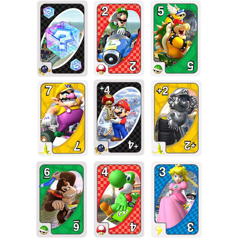 Image of Little Bumper Kids Toys Mario-Kart UNO Card Game
