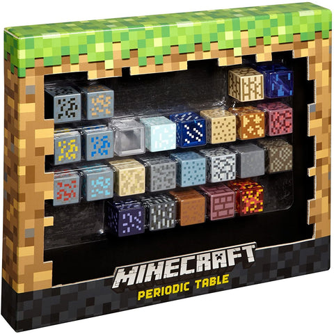 Image of Little Bumper Kids Toys Minecraft Style Periodic Table of Elements