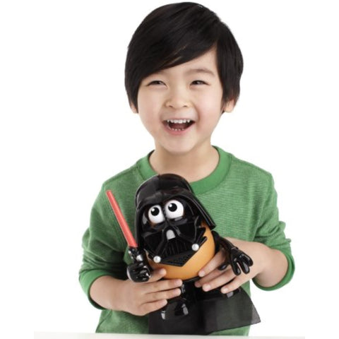 Image of Little Bumper Kids Toys Mr.Potato Head Star Wars Toy: Darth Tater