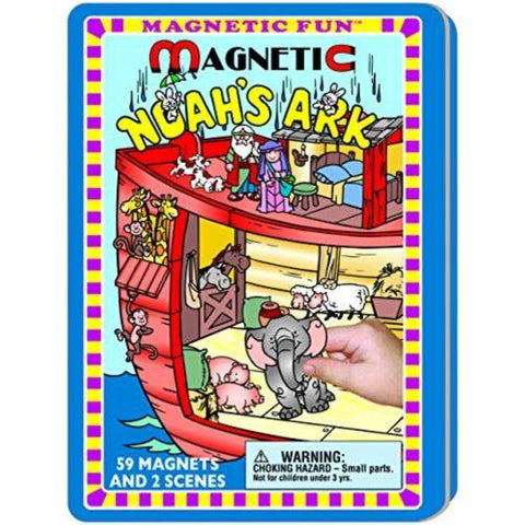 Image of Little Bumper Kids Toys Noah's Ark Fun Magnetic Tin for Kids