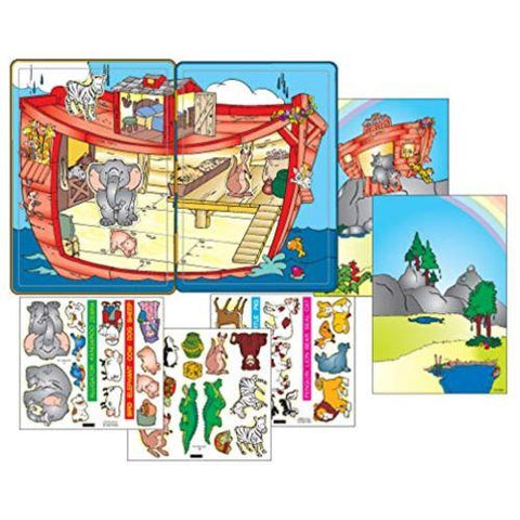 Little Bumper Kids Toys Noah's Ark Fun Magnetic Tin for Kids