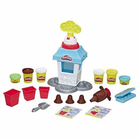 "Image of Little Bumper Kids Toys ""Popcorn Party"" Play-Doh Play Set"