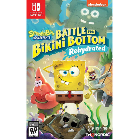 Image of Little Bumper Kids Toys Spongebob Squarepants: Battle for Bikini Bottom Video Game for Nintendo Switch