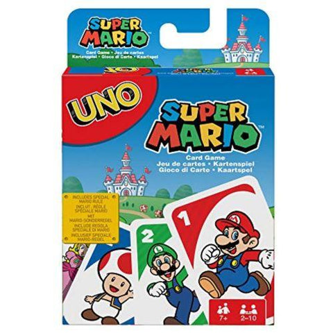 Image of Little Bumper Kids Toys Super Mario UNO Card Game
