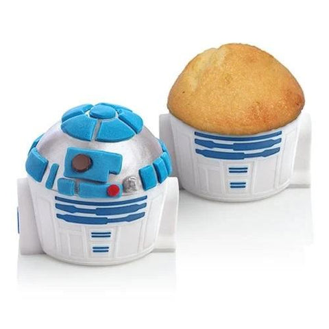 Little Bumper Kitchen Dining Baking Cups: Star Wars R2-D2