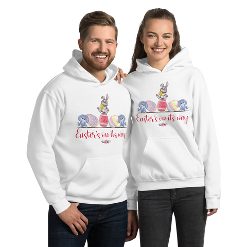 "Image of Little Bumper Mommies Clothes ""Easter's On It's Way"" Unisex Hoodie"