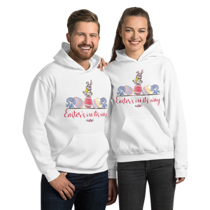 "Little Bumper Mommies Clothes ""Easter's On It's Way"" Unisex Hoodie"