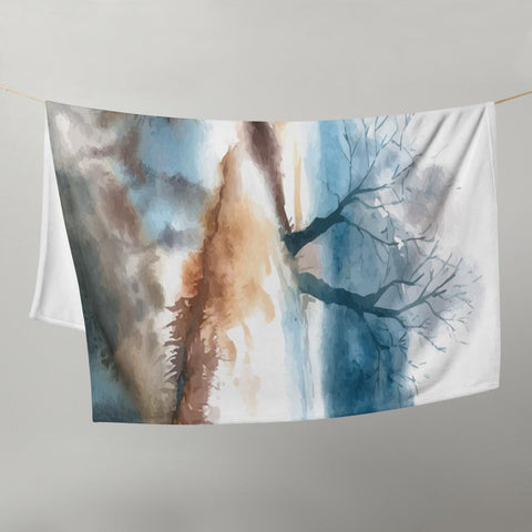 Little Bumper Natural Scenery Throw Blanket