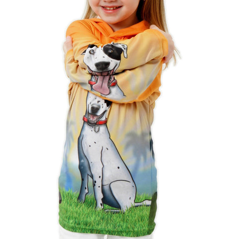 Image of Mouthman® Animated Hoodies Kids & Babies - Mother & Kids - Boys' Clothing HOUND DOG Hoodie Sport Shirt