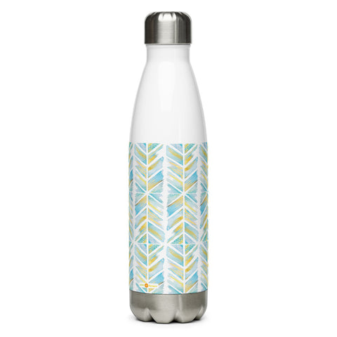 Little Bumper Chevron Stainless Steel Water Bottle