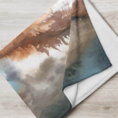 Natural Scenery Throw Blanket