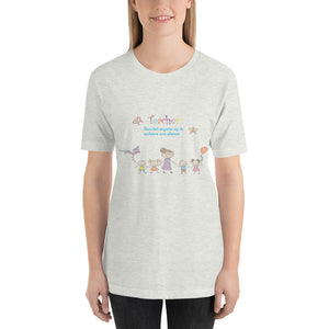 Teacher Inspires Us Short-Sleeve Unisex T-Shirt