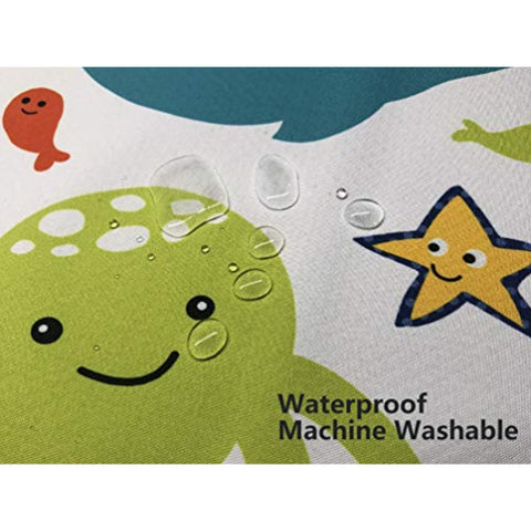 Image of Womumon Baby Feeding Splat Mat for Under Highchair/Arts/Crafts