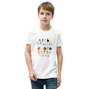 Alphabet Youth Short Sleeve T-Shirt