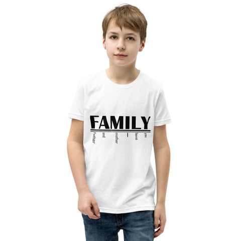 FAMILY Youth Short Sleeve T-Shirt