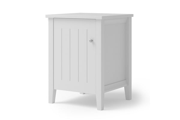 Willow Bedside Table with Door