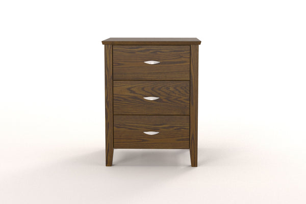 Amara 3 Drawer Bedside Table