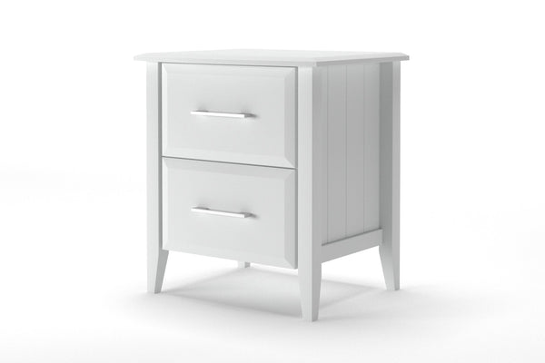 Baltic 2 Drawer Bedside Table