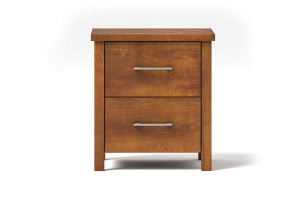 Rocco 2 Drawer Bedside Table
