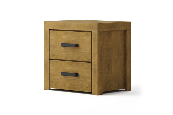 Alto 2 Drawer Bedside Table