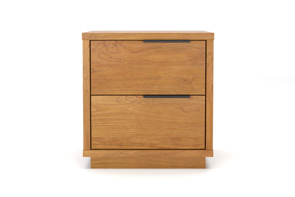 Benson 2 Drawer Bedside Table