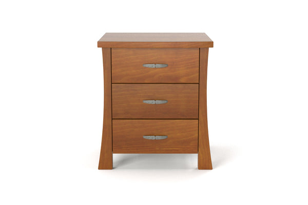 Piermont 3 Drawer Bedside Table