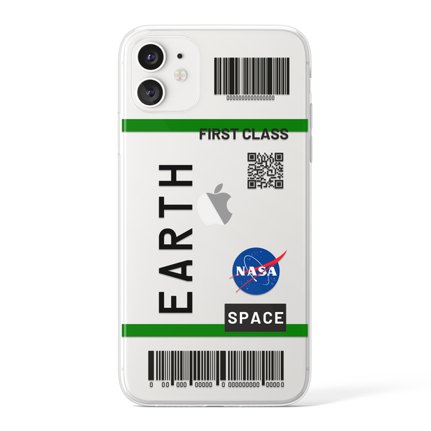 Earth - Transparent (Black)