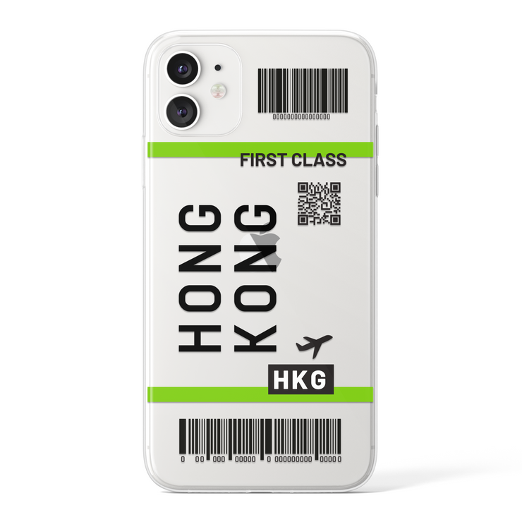 Hong Kong - Transparent (Black)