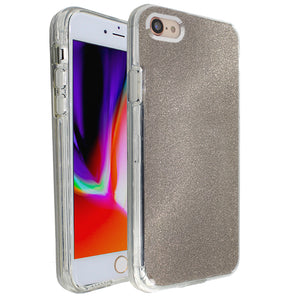 Grey Sparkle Ibrido Case for iPhone 7/8