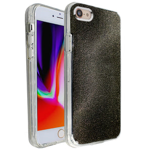 Black Sparkle Ibrido Case for iPhone 7/8