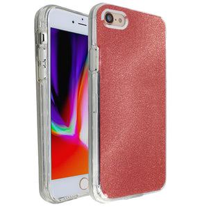 Red Sparkle Ibrido Case for iPhone 7/8