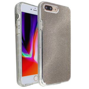 Grey Sparkle Ibrido Case for iPhone 7/8 Plus