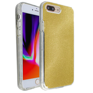 Yellow Sparkle Ibrido Case for iPhone 7/8 Plus