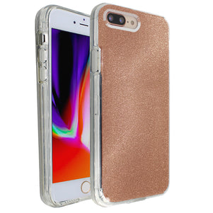 Rose Gold Sparkle Ibrido Case for iPhone 7/8 Plus