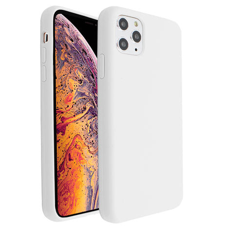 White Silicona Case for iPhone 11 Pro Max