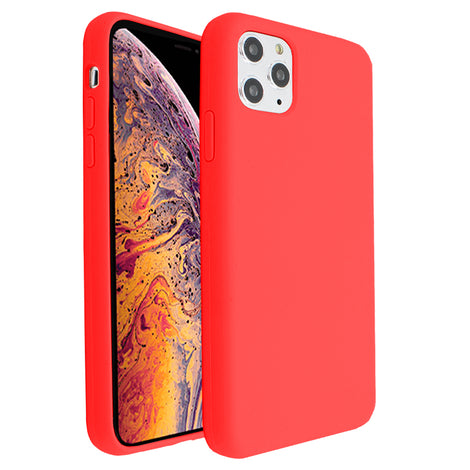 Red Silicona Case for iPhone 11