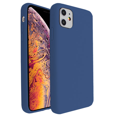 Dark Blue Silicona Case for iPhone 11