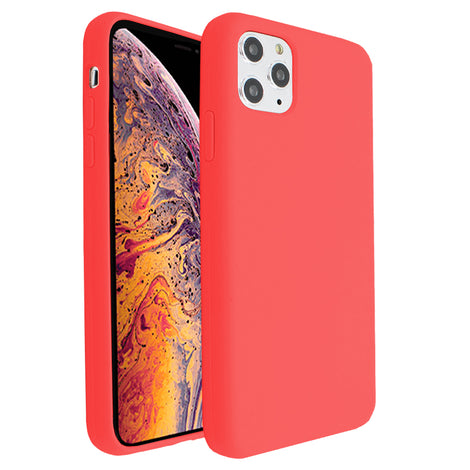 Hot Red Silicona Case for iPhone 11 Pro