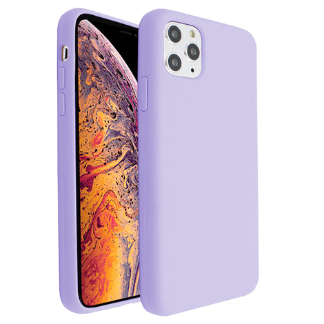 Lavender Silicona Case for iPhone 11 Pro