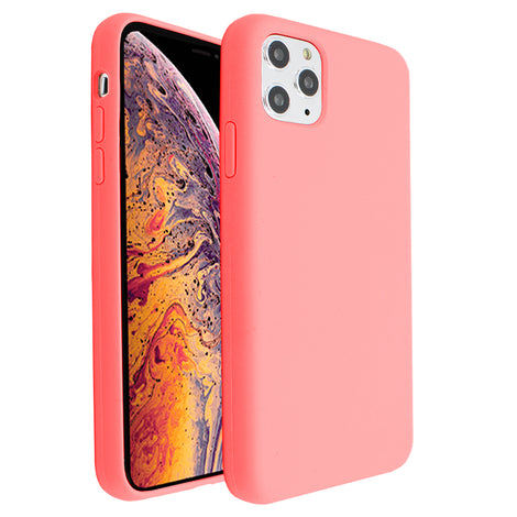 Hot Pink Silicona Case for iPhone 11