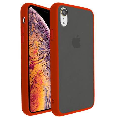 Red Glassato Case for iPhone XR