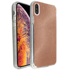 Rose Gold Sparkle Ibrido Case for iPhone X/XS