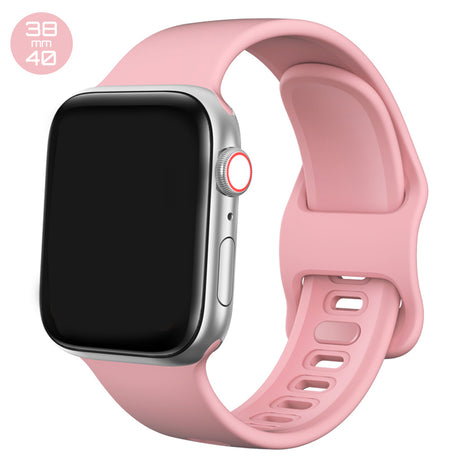 Rose Pink Liquid Silicone iWatch Band 38/40mm
