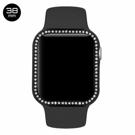 Black Diamond Aluminum iWatch Case 38mm