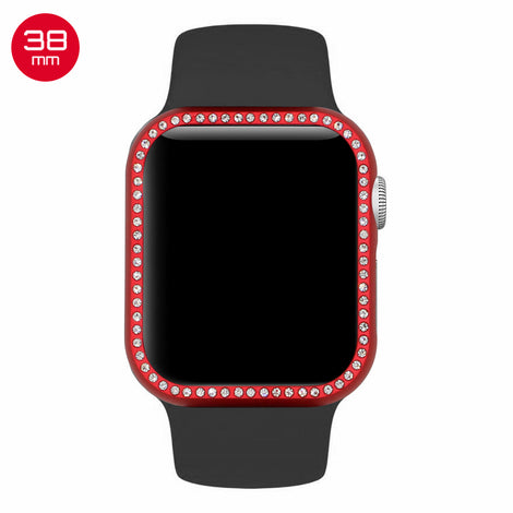 Red Diamond Aluminum iWatch Case 38mm
